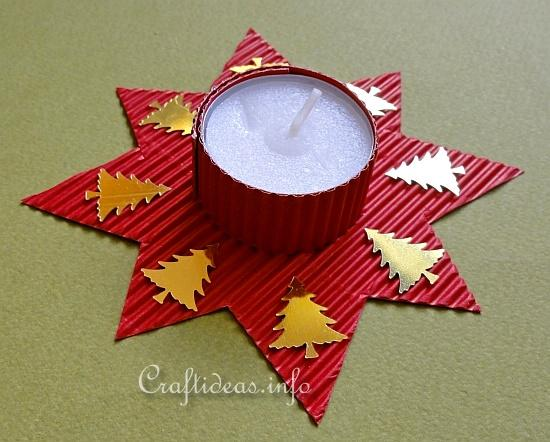 Free kids christmas craft project kid 39 s crafts for Christmas star craft ideas